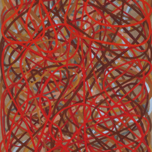 Arnoldi, Charles_Interactions_oil on linen_40 x 25 inches
