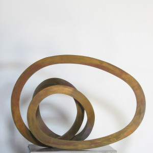 silicon bronze 18 x 13 x 8 inches $7,000