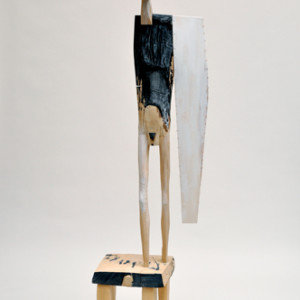 wood and paint 81 x 16 x 18 inches $13,000