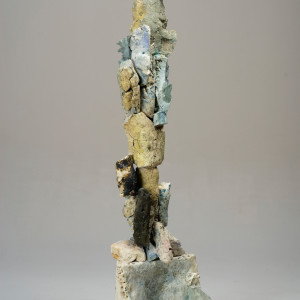 fired clay 66.25 x 17 x 18 inches SOLD
