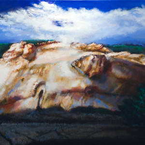 oil on canvas 42 x 60 inches SOLD