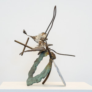 patinated bronze 20 x 18 x 15 inches $2,400