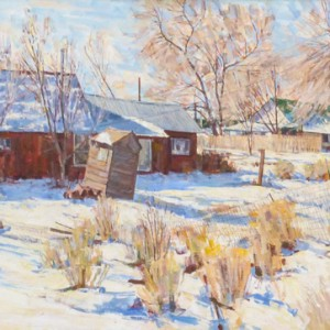 oil on canvas 26 x 72 inches $4,150