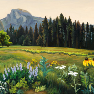 oil on canvas 14 x 34 inches SOLD