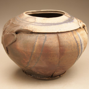wood fired stoneware 8.5 x 12 inches