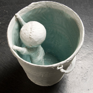 porcelain 11.5 x 10.5 inches