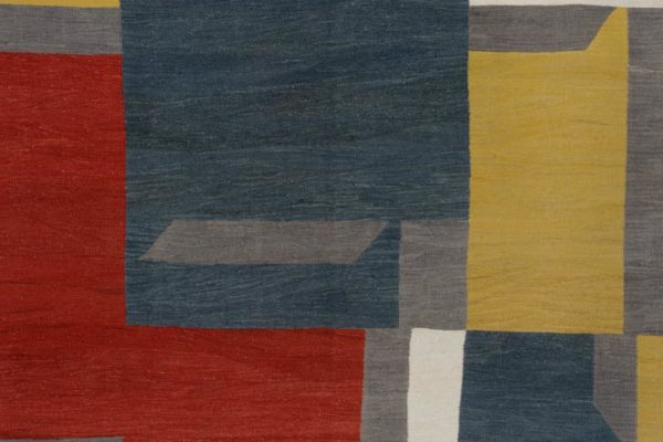 Mike Berg, What Name Do I Have For You, wool, cotton, linen, and goat hair, 122 x 81 inches, $10,000