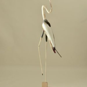 Bird #77,  wood, paint, and mixed media, 71.5 x 14 x 15 inches, $8,500