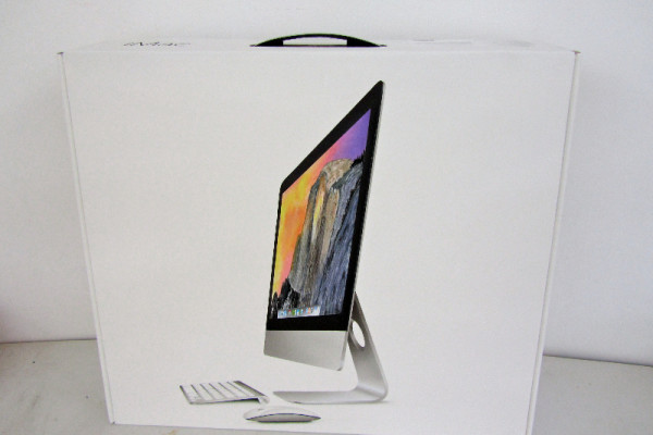 iMac - 015, oil and acrylic on canvas, 23 x 25 x 9 inches, $18,000
