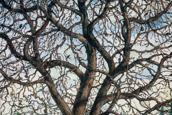 Fate of the Seasons, oil on linen, 18 x 22 inches, $6,000