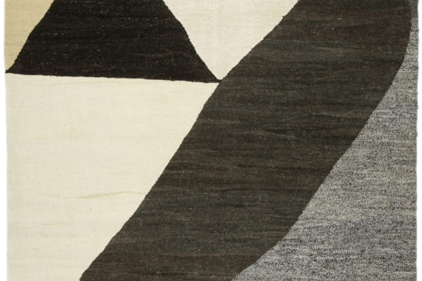 Smiling to Myself (In Tone), wool, cotton, linen, and goat hair, 59 x 55 inches, $7,500