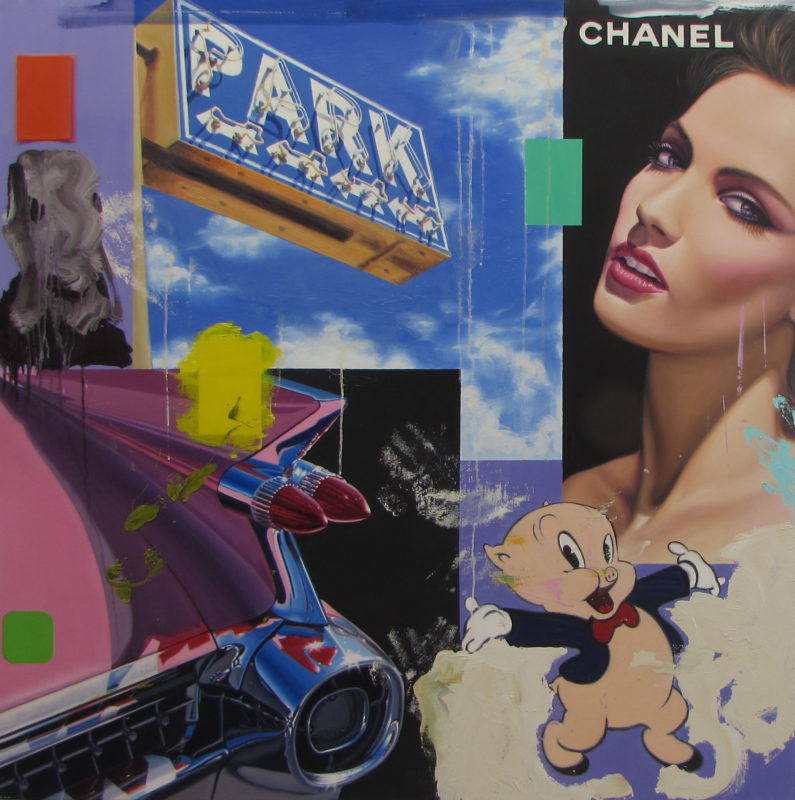 Porky Chanel_48 x 48 inches