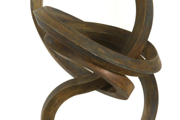 Roger Berry, Upright, silicon bronze, 24 x 17 x 14 inches