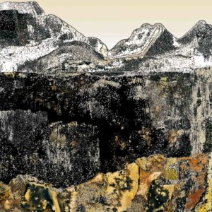 Nolan Preece, Sierra 2, chemigram, 20 x 16 inches (other sizes available)